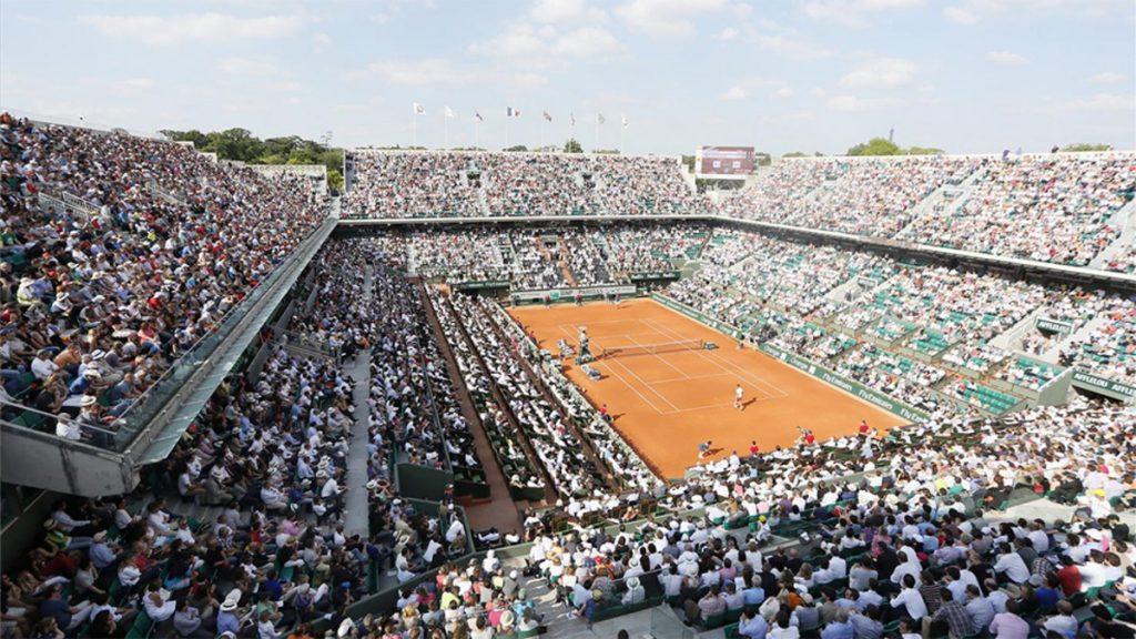 Pistas del Roland-Garros