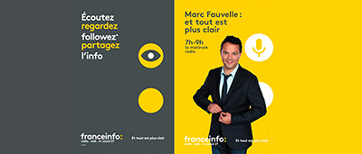 logotipo de radio francesa franceinfo