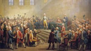 Diputados que dieron Origen de los términos derecha e izquierda en la Revolución Francesa